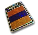 Armenian Flag Decal