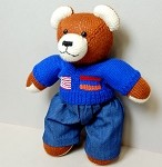 Berd Bear (denim)