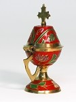Small Enamel Incense Burner