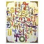 Glory of Aypupen: Armenian Alphabet Poster